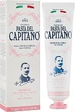 Fragrances, Perfumes, Cosmetics Toothpaste for Sensitive Teeth - Pasta Del Capitano Premium Collection Sensitive Toothpaste
