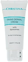 Fragrances, Perfumes, Cosmetics Transdermal Liposome Cream for Dry & Normal Skin - Christina Trans dermal Cream with Liposomes