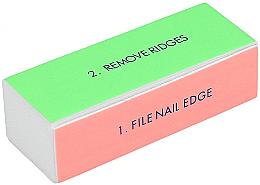 Fragrances, Perfumes, Cosmetics Four-Sided Nail Polishing Buff, Wide - Tools For Beauty 4-way Nail Buffer Block