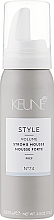 Fragrances, Perfumes, Cosmetics Strong Mousse #74 - Keune Style Strong Mousse Travel Size