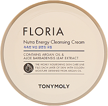 Fragrances, Perfumes, Cosmetics Cleansing Cream - Tony Moly Floria Nutra-Energy Cleansing Cream