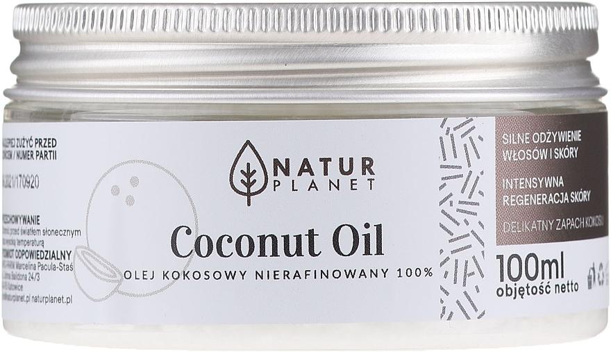 Unrefined Coconut Oil - Natur Planet Coconut Oil