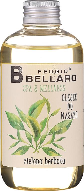 """Massage Oil """"Green Tea"""" - Fergio Bellaro Massage Oil Green Tea"""