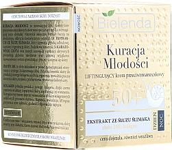 Fragrances, Perfumes, Cosmetics Face Cream - Bielenda Kuracja Mlodosci Cream 50+