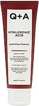 Fragrances, Perfumes, Cosmetics Hydrating Hyaluronic Acid Cleanser - Q+A Hyaluronic Acid Hydrating Cleanser