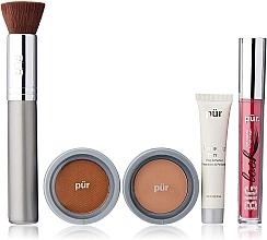 Fragrances, Perfumes, Cosmetics Set - Pur Minerals Best Sellers Starter Kit Blush Medium (primer/10ml+found/4.3g+bronzer/3.4g+mascara/5g+brush)