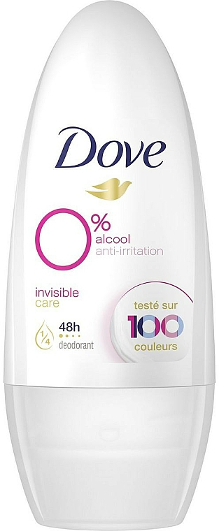 Roll-On Antiperspirant - Dove Invisible Care Antiperspirant Roll-On — photo N1
