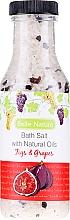 "Fragrances, Perfumes, Cosmetics Bath Salt ""Figs and Grapes"" - Belle Nature Bath Salt"