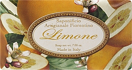 "Fragrances, Perfumes, Cosmetics Toilet Soap ""Lemon"" - Saponificio Artigianale Fiorentino Lemon"