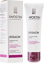Fragrances, Perfumes, Cosmetics Soothing Night Face Cream - Iwostin Rosacin Redness Reducing Night Cream
