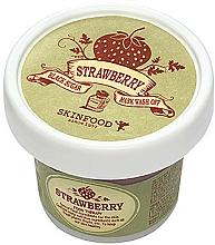 Fragrances, Perfumes, Cosmetics Black Sugar and Strawberry Scrub Mask - Skinfood Black Sugar Strawberry Mask Wash Off