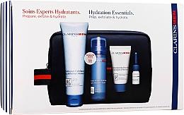 Fragrances, Perfumes, Cosmetics Set - Clarins Men Hydration Christmas (exf/125ml + balm/50ml + sh/gel/30ml + sh/oil/3ml)