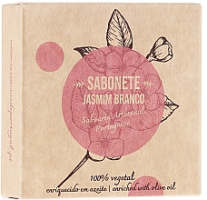 "Fragrances, Perfumes, Cosmetics Natural Soap ""Jasmine"" - Essencias De Portugal Senses Jasmine Soap With Olive Oil"