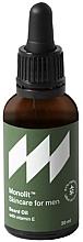 Fragrances, Perfumes, Cosmetics Beard Oil with Vitamin E - Monolit Skincare For Men Beard Oil With Vitamin E