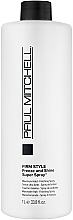"""Fragrances, Perfumes, Cosmetics Strong Hold Styling Spray """"Freeze & Shine"""" - Paul Mitchell Firm Style Freeze & Shine Super Spray"""