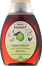 "Fragrances, Perfumes, Cosmetics Bath & Shower Oil ""Bergamot & Lime"" - Green Pharmacy"