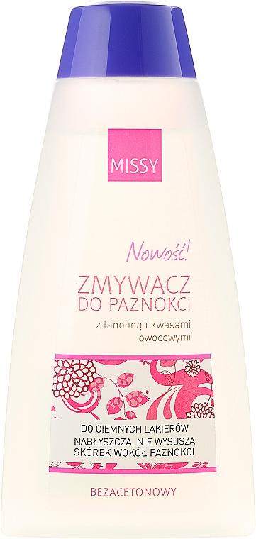 "Nail Polish Remover ""Lanolin and Fruit Acids"" - Pharma CF Missy"