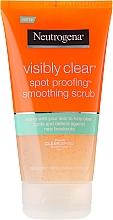 Fragrances, Perfumes, Cosmetics Facial Scrub - Neutrogena Visibly Clear Spot Proofing Smoothing Scrub