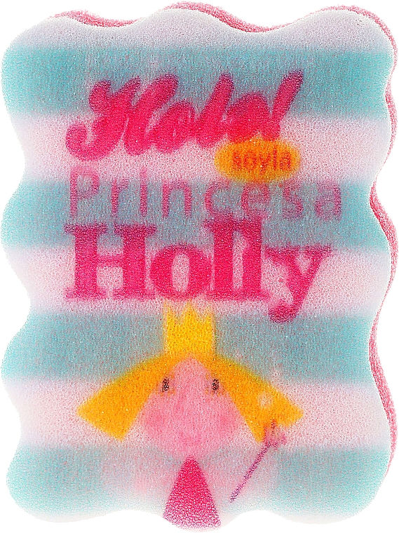 """Baby Sponge """"Ben and Holly"""", Holly, white with light blue - Suavipiel Ben & Holly"""