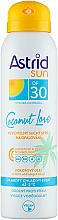 Fragrances, Perfumes, Cosmetics Dry Sun Spray SPF 30 - Astrid Dry Sun Spray Coconut Love SPF30