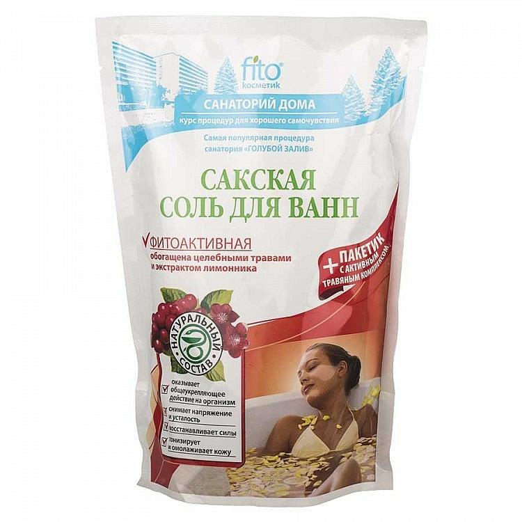 "Phyto Active Bath Salt ""Sakskaya"" - Fito Cosmetic"