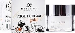 Fragrances, Perfumes, Cosmetics Night Face Cream - Hristina Cosmetics Orient Gold Night Cream