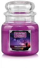 Fragrances, Perfumes, Cosmetics Scented Candle in Jar - Country Candle Twilight Tonka