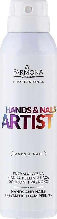 Enzyme Hand Foam - Farmona Hands and Nails Artist Enzymatic Foam Peeling