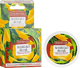 """Fragrances, Perfumes, Cosmetics Hand Butter """"Nourishing Banana"""" - Bielenda Hand Butter Nourishing Banana"""