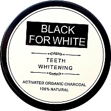 Fragrances, Perfumes, Cosmetics Whitening Activated Carbon Tooth Powder - Biomika Black For White Teeth Whitening