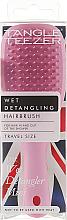 Fragrances, Perfumes, Cosmetics Hair Brush - Tangle Teezer The Wet Detangler Mini Baby Pink Sparkle