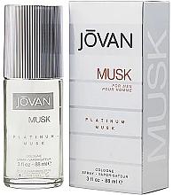 Fragrances, Perfumes, Cosmetics Jovan Platinum Musk For Men - Eau de Cologne