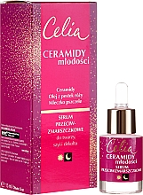 Fragrances, Perfumes, Cosmetics Anti-Wrinkle Face, Neck and Decollete Serum - Celia Ceramidy Serum