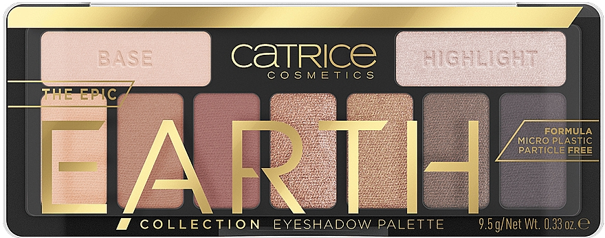 Eyeshadow Palette - Catrice The Epic Earth Collection Eyeshadow Palette