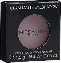 Fragrances, Perfumes, Cosmetics Matte Eyeshadow - Mesauda Milano Glam Matte Eye Shadow