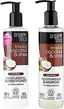Fragrances, Perfumes, Cosmetics Hair Care Kit - Organic Shop (h/shm/280ml + h/cond/280ml)