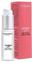 Fragrances, Perfumes, Cosmetics Eye & Lip Serum - Collagena Code Express Lift Eye And Lip