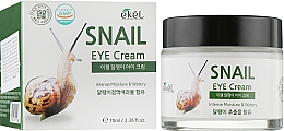 Fragrances, Perfumes, Cosmetics Moisturizing Eye Zone Cream with Snail Mucin - Ekel Snail Eye Cream