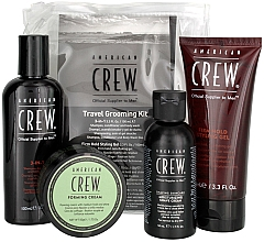 Fragrances, Perfumes, Cosmetics Set - American Crew Travel Grooming Kit (gel/100 ml + cr/50 g + sh/gel/100 ml+ sh/cr/50 ml)