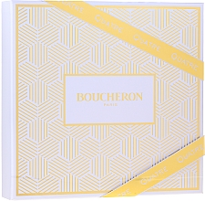 Fragrances, Perfumes, Cosmetics Boucheron Quatre Boucheron Pour Femme - Set (edp/50ml + b/lot/50ml+ sh/gel/50ml)
