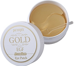 Fragrances, Perfumes, Cosmetics Hydro Gel Eye Patches Premium with Gold & EGF - Petitfee & Koelf Premium Gold & EGF Eye Patch