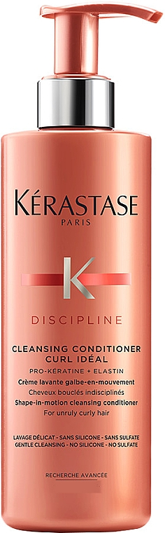 Conditioner for Unruly Curly Hair - Kerastase Discipline Cleansing Conditioner Curl Ideal