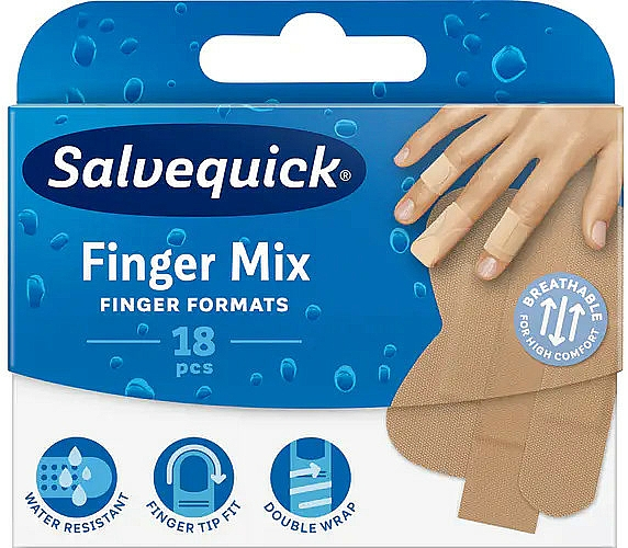 Fingers and Toes Plaster - Salvequick Finger Mix