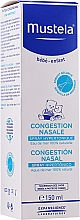 Fragrances, Perfumes, Cosmetics Nasal Congestion Hipertonic Spray - Mustela Nasal Congestion Hipertonic Spray