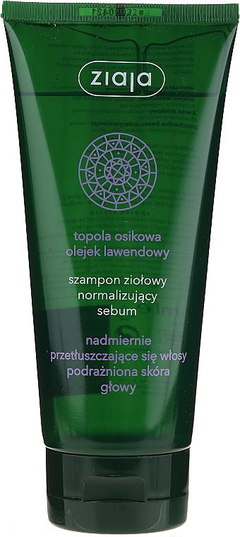 Sebum Normalizing Herbal Shampoo - Ziaja Shampoo