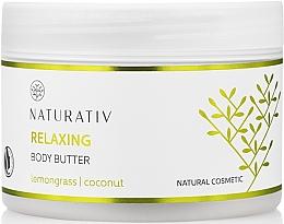 Fragrances, Perfumes, Cosmetics Relaxing Body Butter - Naturativ Relaxing Body Butter Lemongrass