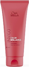 Fragrances, Perfumes, Cosmetics Conditioner for Normal and Colored Hair - Wella Professionals Invigo Color Brilliance Conditioner