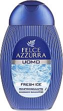 Fragrances, Perfumes, Cosmetics Shampoo and Shower Gel - Felce Azzurra Fresh Ice