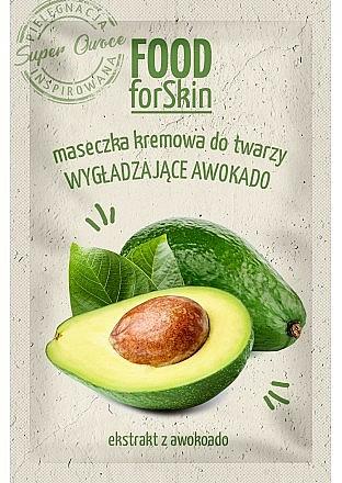 Avocado Creamy Face Mask - Marion Food for Skin Cream Mask Smoothing Avocado