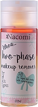 Fragrances, Perfumes, Cosmetics Biphase Makeup Remover - Nacomi Two Phase Oil Double Effect